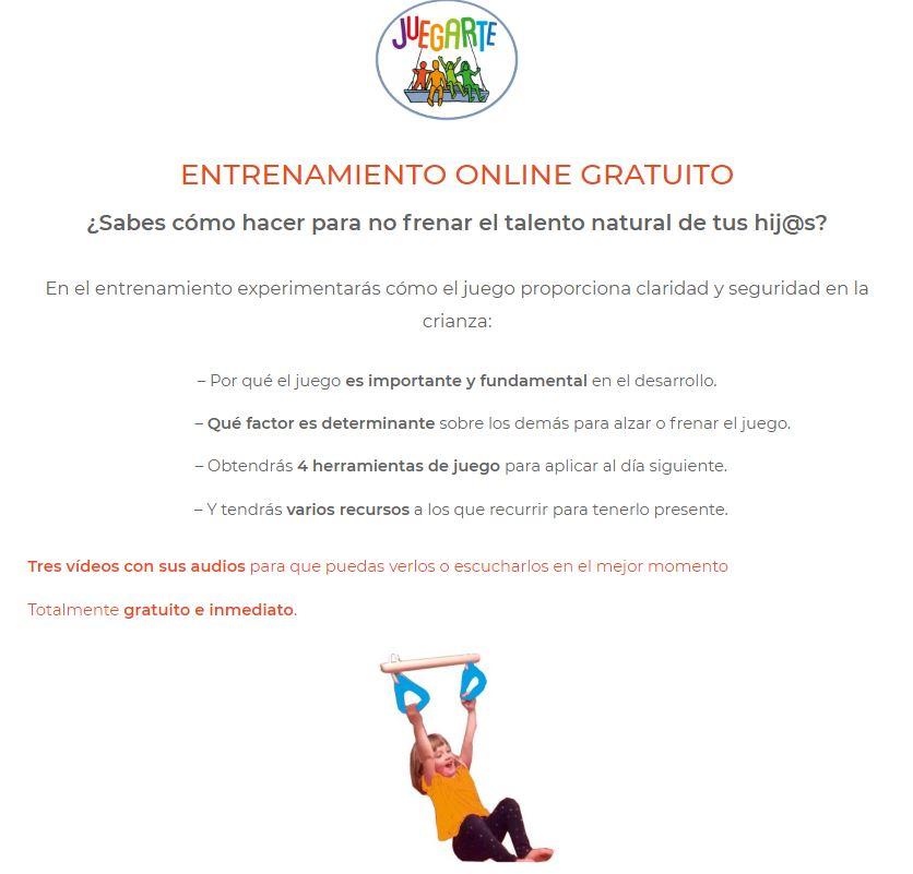 entrenamiento online gratuito